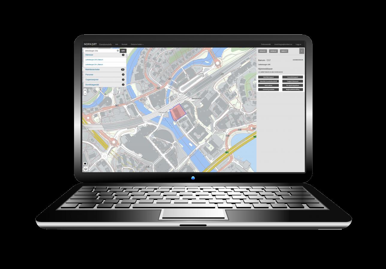 Eiendomsinfo - Bærbar PC
