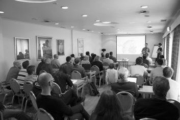 Seminar Geomatikkdagene salen SortHvitt