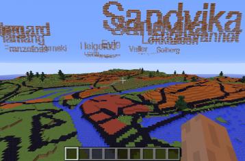 Sandvika i Minecraft