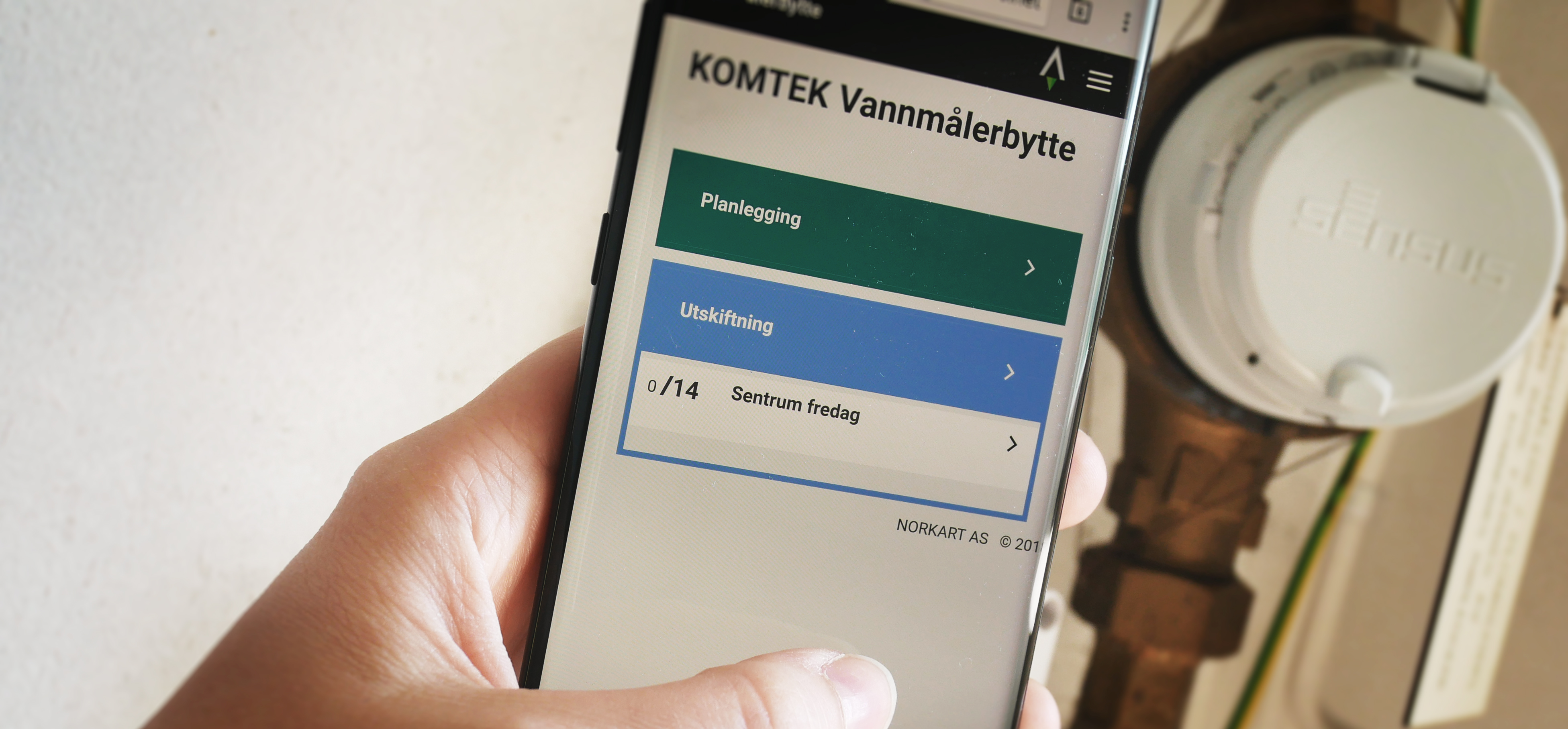 KOMTEK-Vannmalerbytte