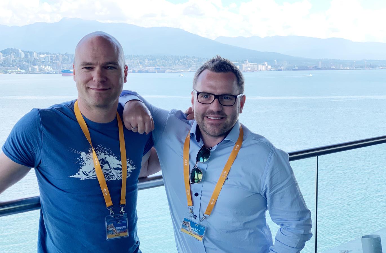 Hans Gunnar og Kenneth FME Canada