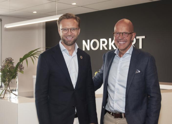 Nikolai Astrup og Bent Brugård